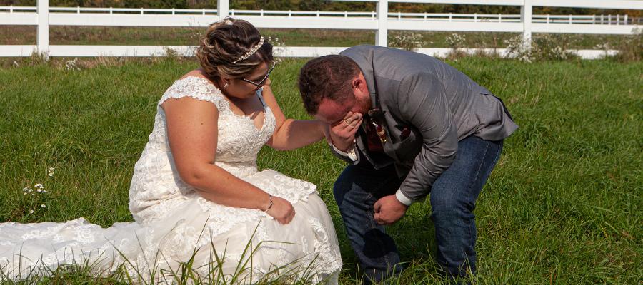 Mike Elford The Windsor Wedding Photographer Groom Emotion